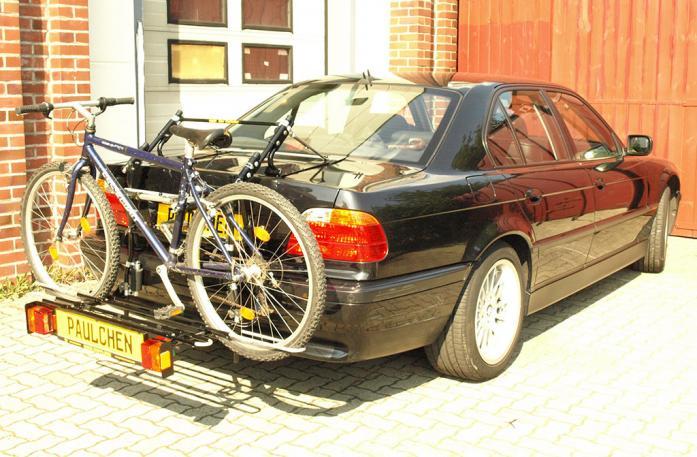 bmw 7er stufenheck fahrradtr ger am heck. Black Bedroom Furniture Sets. Home Design Ideas