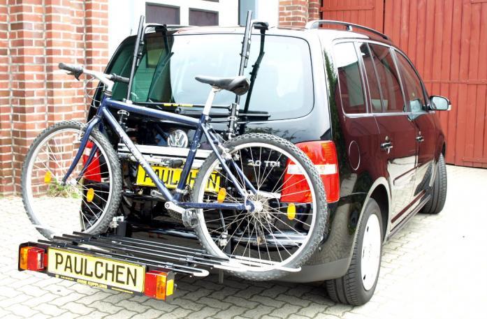 volkswagen touran fahrradtr ger am heck. Black Bedroom Furniture Sets. Home Design Ideas