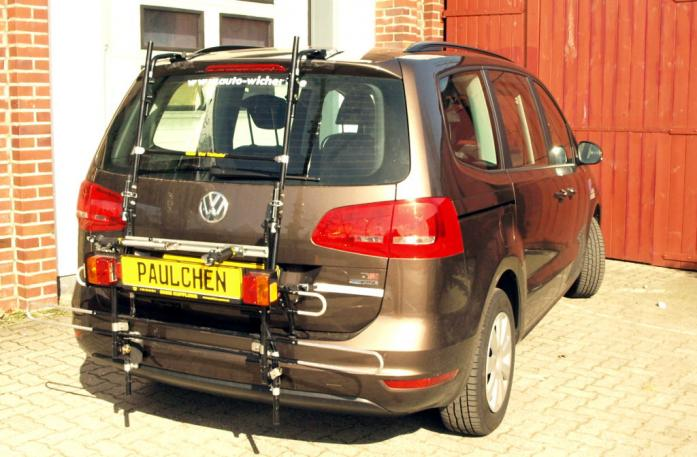 bicycle carrier for vw sharan 7n paulchen hecktr ger. Black Bedroom Furniture Sets. Home Design Ideas