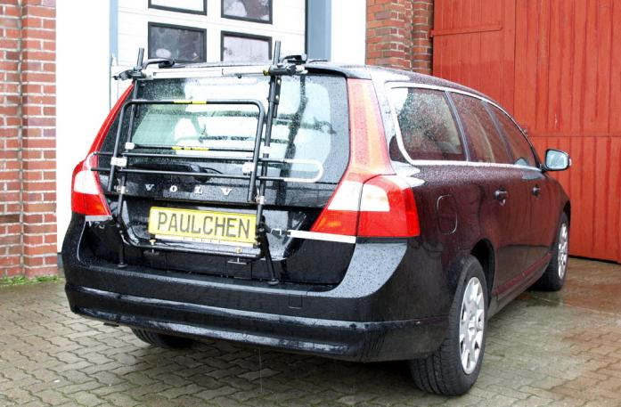 Volvo V70 III Combi / XC 70 Bike carrier in standby position