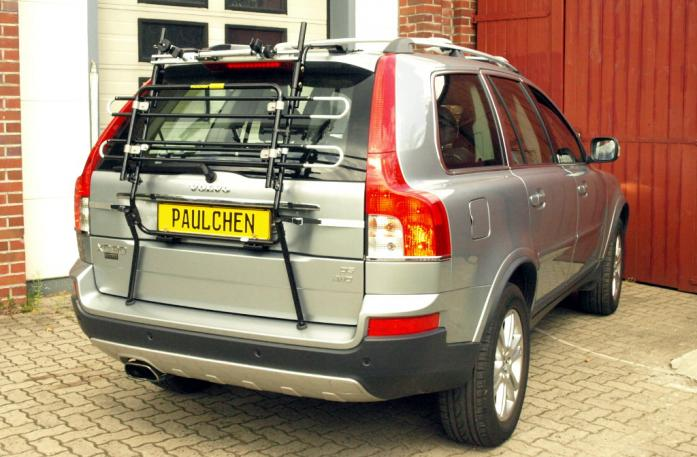 Volvo XC 90 Facelift Bike carrier in standby position