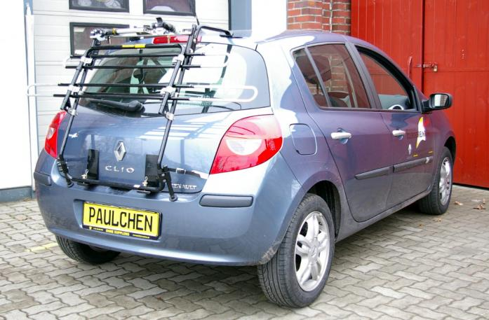 Renault Clio 3 (R) Bike carrier in standby position