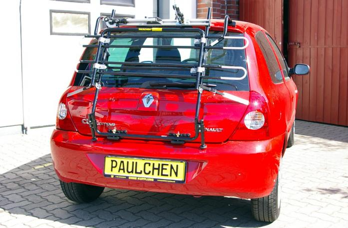 Renault Clio 2 Campus (B) Bike carrier in standby position
