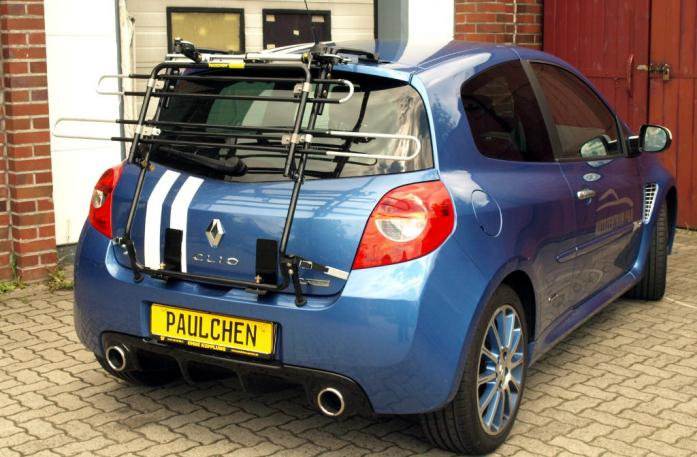 Renault Clio 3 RS (R) Bike carrier in standby position