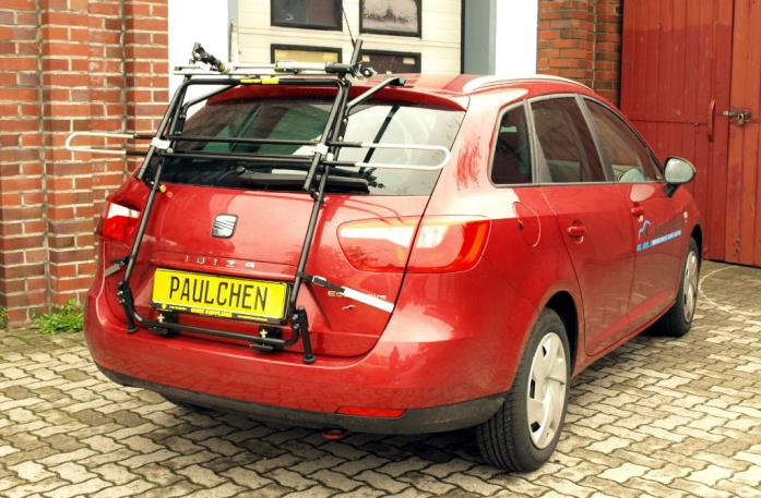 Seat Ibiza ST Kombi (6J5) Bike carrier in standby position