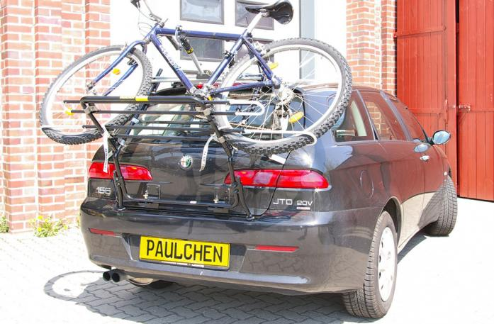 Alfa Romeo 156 Sportwagon Bike carrier in standby position