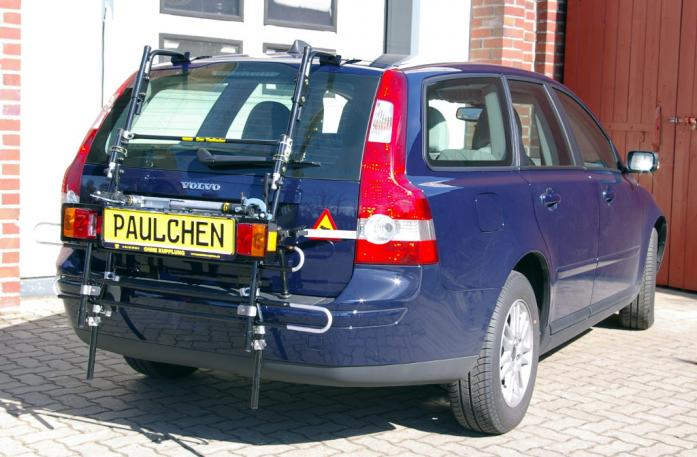 Volvo V 50 Bike carrier with comfort load extension in standby position. Without trailer hitch!