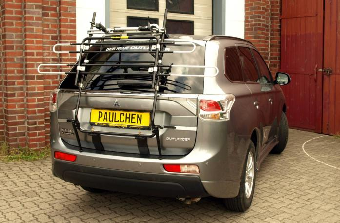 Mitsubishi Outlander III (CW0) Bike carrier in standby position