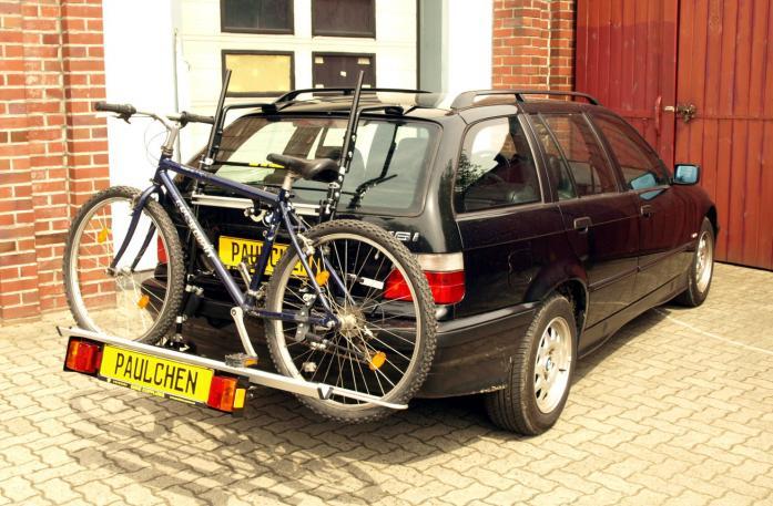 fahrradtr ger f r bmw 3er touring e36 paulchen. Black Bedroom Furniture Sets. Home Design Ideas