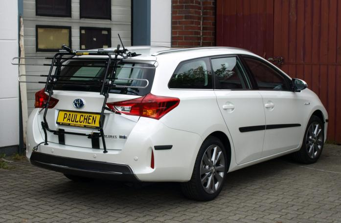 Toyota Auris Touring Sports Bike carrier in standby position