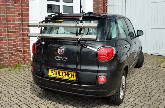 Fiat 500L (199) Bike carrier in standby position