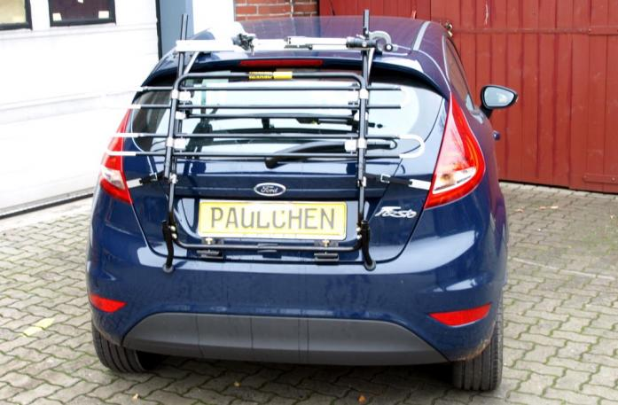 Ford Fiesta VI Bike carrier in standby position
