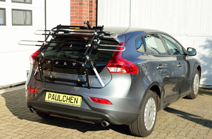 Volvo V40 (525/526) Bike carrier in standby position
