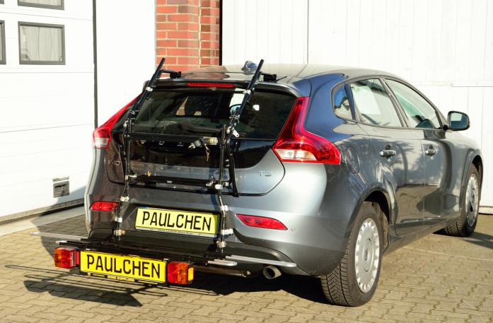 Volvo V40 (525/526) Bike carrier with comfort load expansion in loading position. Without trailer hitch!