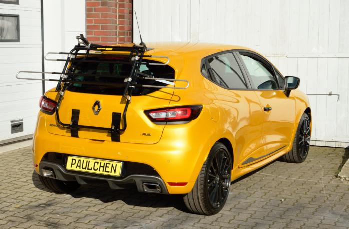 Renault Clio IV RS Bike carrier in standby position