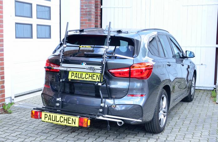 BMW X1 (F48) Bike carrier with comfort load expansion in loading position. Without trailer hitch!