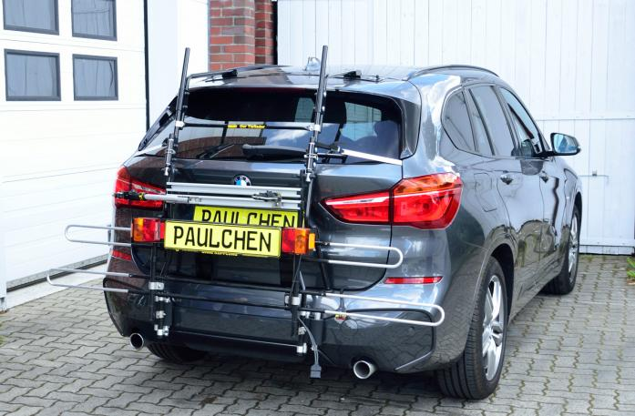 BMW X1 (F48) Bike carrier with comfort load expansion in standby position. Without trailer hitch!