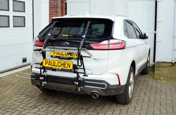Ford Edge Facelift Bike carrier with comfort load expansion in standby position. Without trailer hitch!