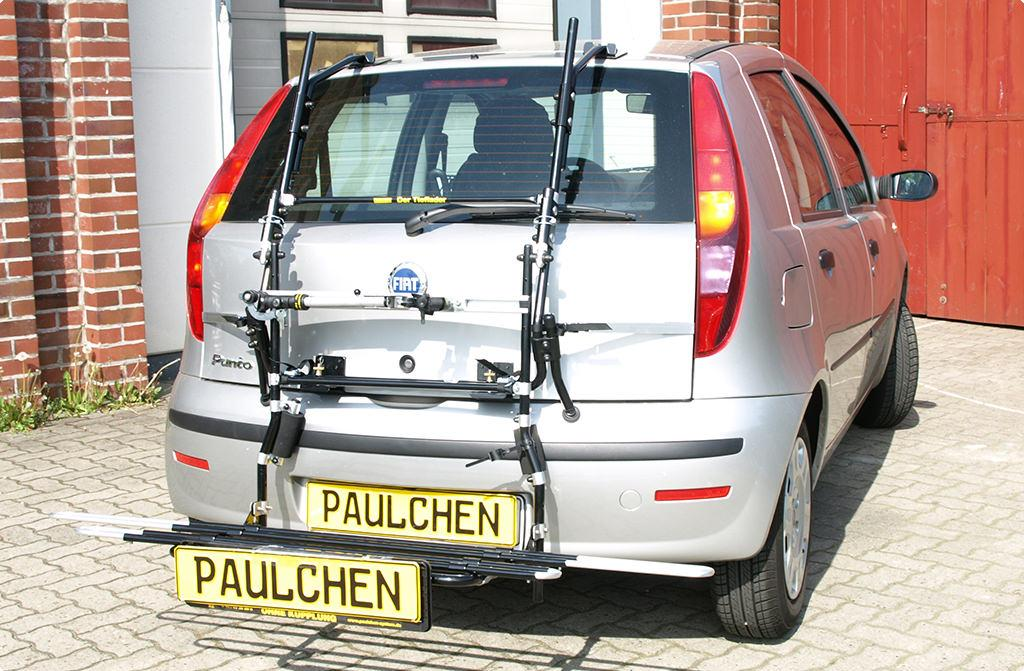 bicycle carrier for fiat punto 188 paulchen hecktr ger. Black Bedroom Furniture Sets. Home Design Ideas