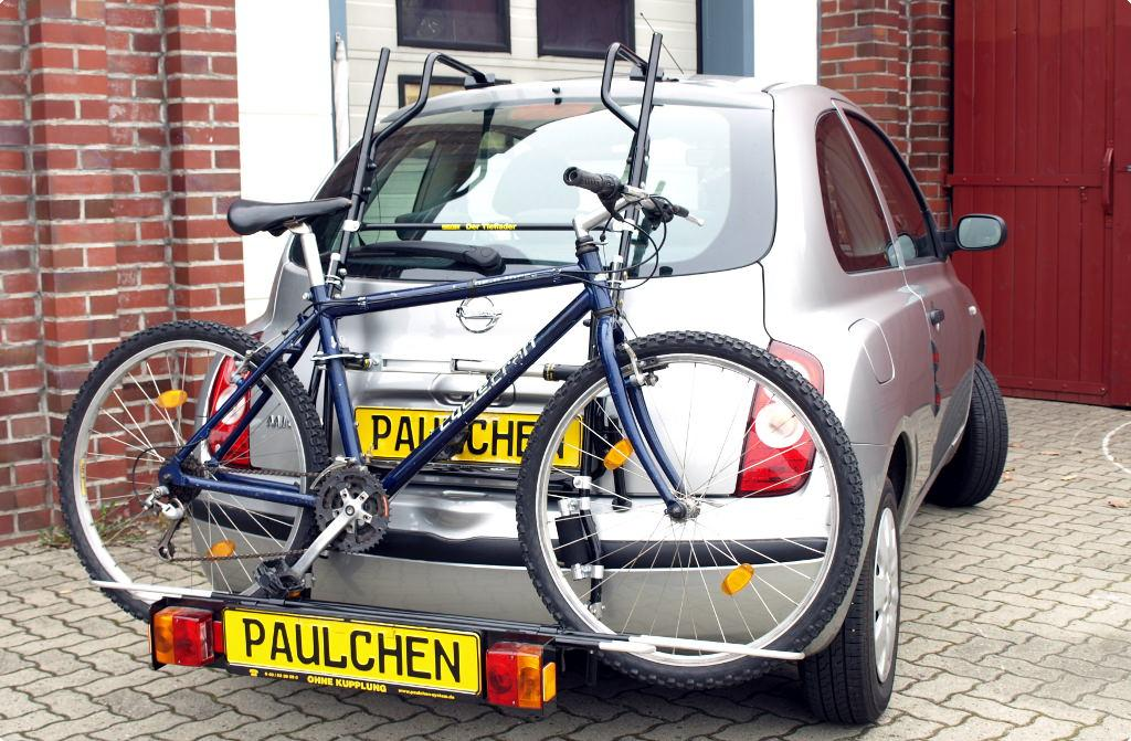fahrradträger für nissan micra (k12) , paulchen heckträger system