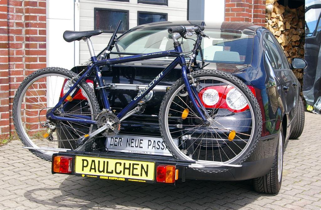 fahrradtr ger f r vw passat stufenheck b6 3c paulchen. Black Bedroom Furniture Sets. Home Design Ideas
