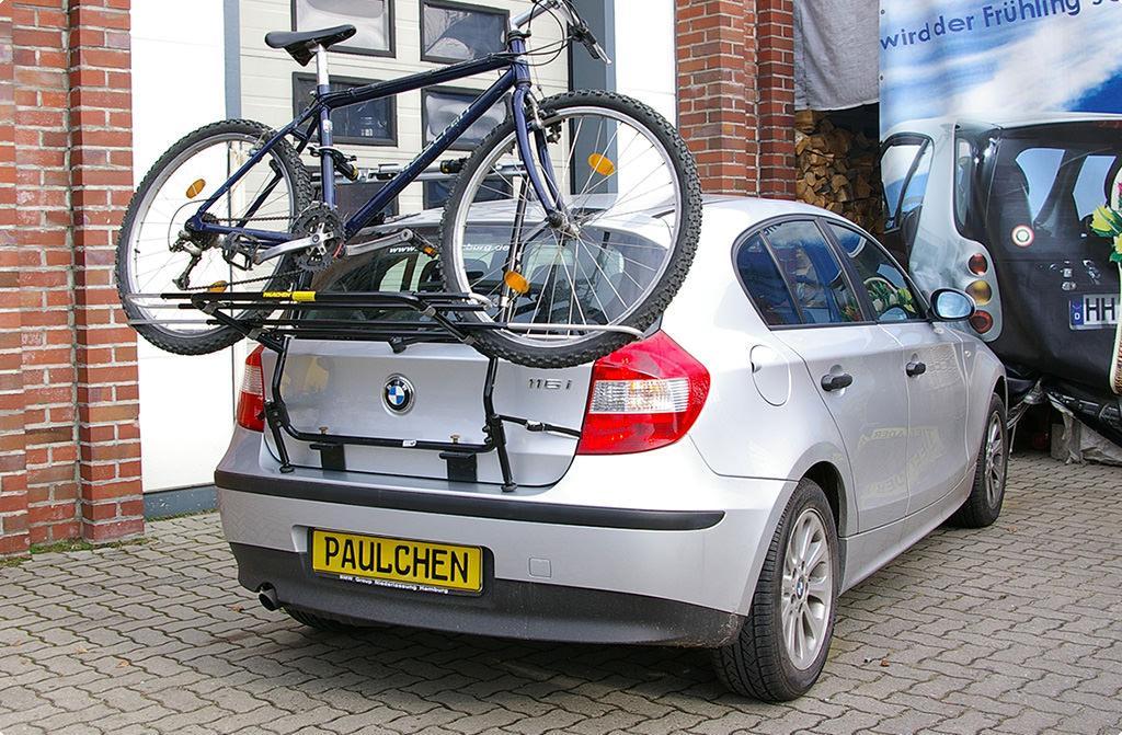 fahrradtr ger f r bmw 1er e81 e87 paulchen hecktr ger. Black Bedroom Furniture Sets. Home Design Ideas