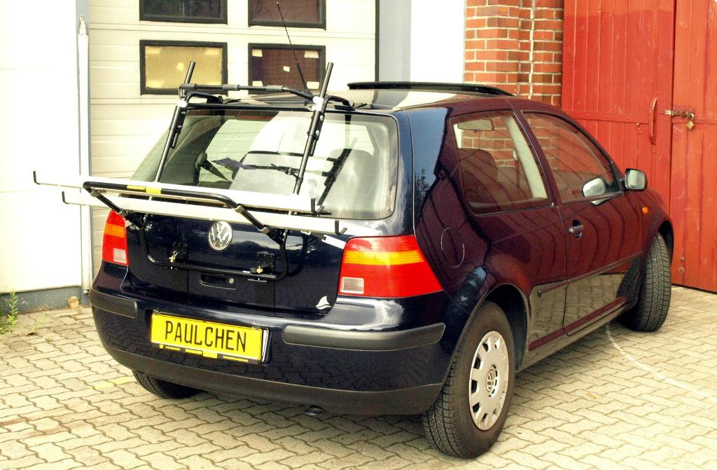 volkswagen golf iv fahrradtr ger am heck. Black Bedroom Furniture Sets. Home Design Ideas