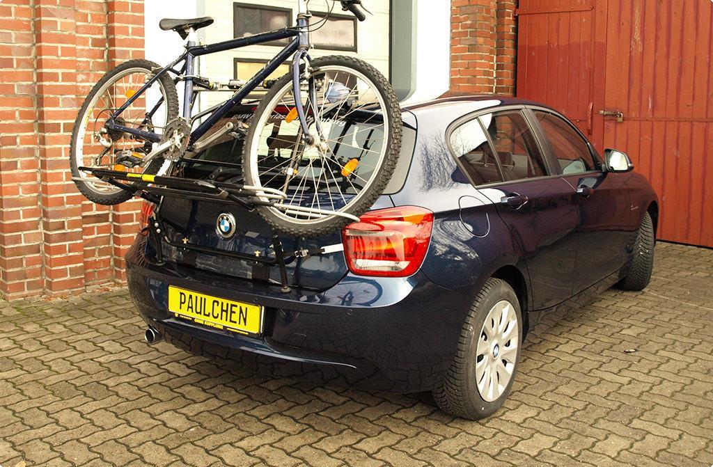 Bicycle Carrier For Bmw 1er F20 Paulchen Hecktrager System Fahrradtrager