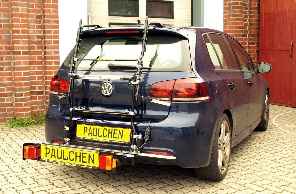 bicycle carrier for vw golf vi 5k1
