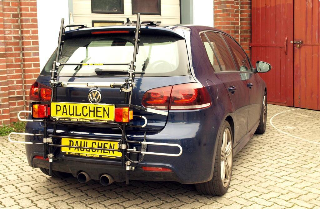 Bicycle Carrier For Vw Golf Vi 5k1 Paulchen Hecktr 228 Ger