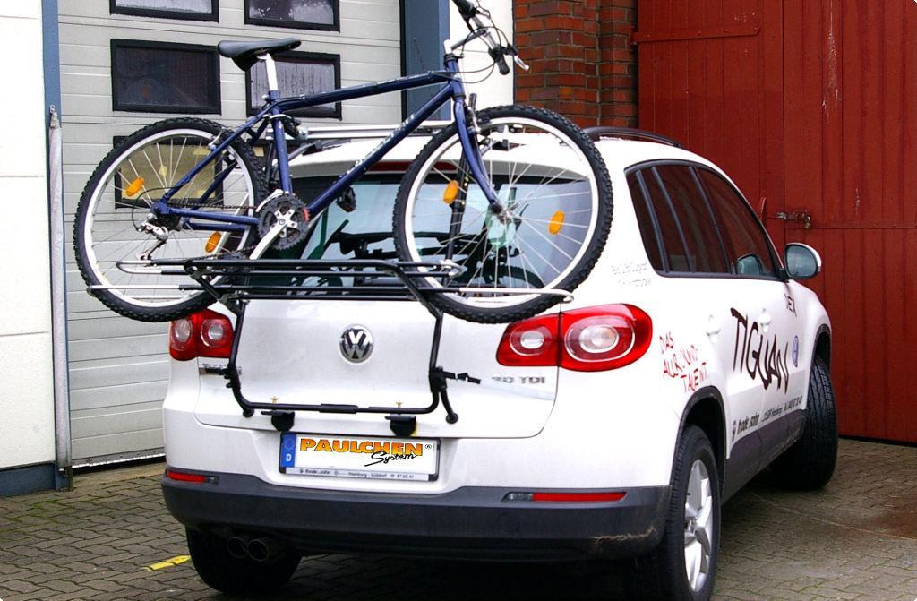 Fahrradtr ger f r vw tiguan 5n paulchen hecktr ger for Vw tiguan breite mit spiegel