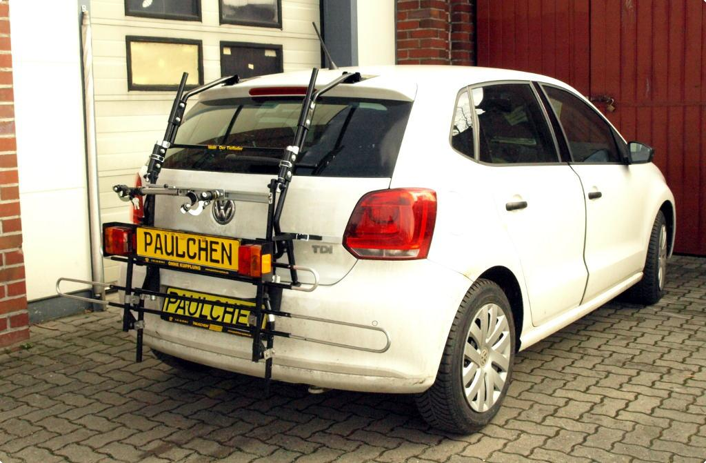 bicycle carrier for vw polo v 6r 6c paulchen. Black Bedroom Furniture Sets. Home Design Ideas
