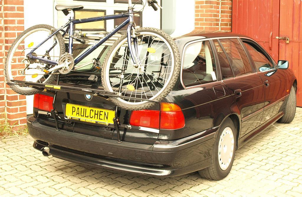Bicycle Carrier For Bmw 5er Touring E39 Paulchen Hecktrager System Fahrradtrager