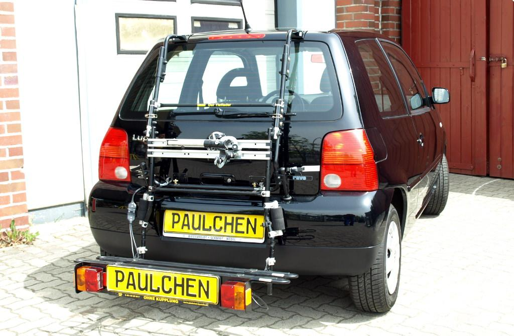 bicycle carrier for vw lupo 6x1 6e1 paulchen. Black Bedroom Furniture Sets. Home Design Ideas