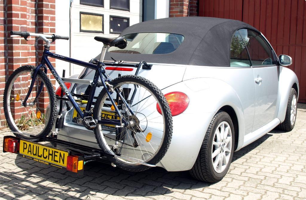 Volkswagen New Beetle Cabrio Bike Rack - Paulchen Heckträger System | Fahrradträger