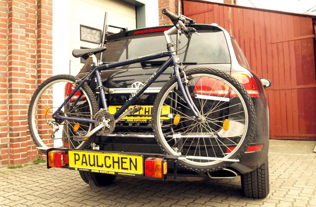 fahrradtr ger f r vw touareg 7p5 paulchen hecktr ger. Black Bedroom Furniture Sets. Home Design Ideas