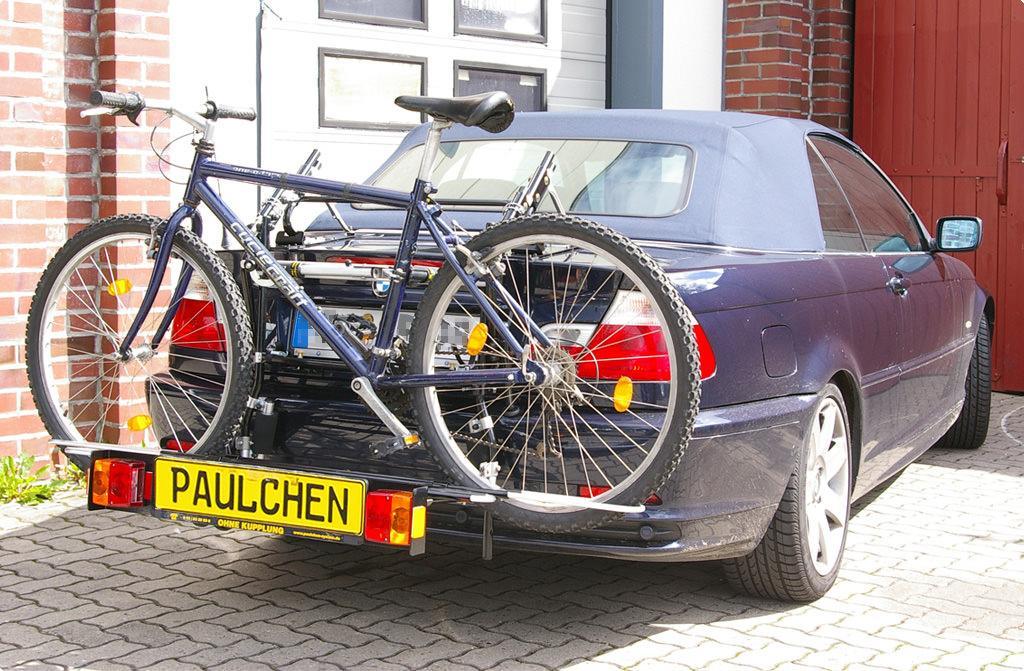 fahrradtr ger f r bmw 3er cabrio e46 paulchen. Black Bedroom Furniture Sets. Home Design Ideas