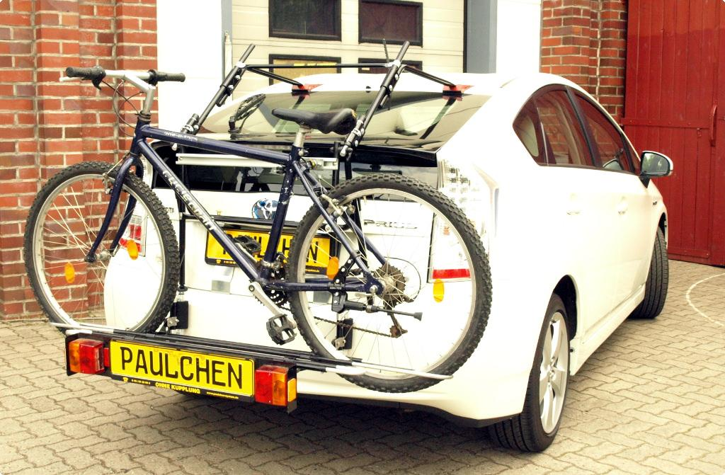 Bicycle Carrier For Toyota Prius Zvw3 Paulchen