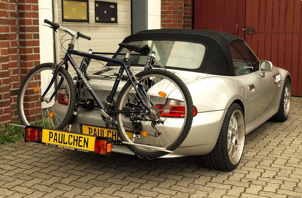 fahrradtr ger f r bmw z3 cabrio e36 paulchen. Black Bedroom Furniture Sets. Home Design Ideas