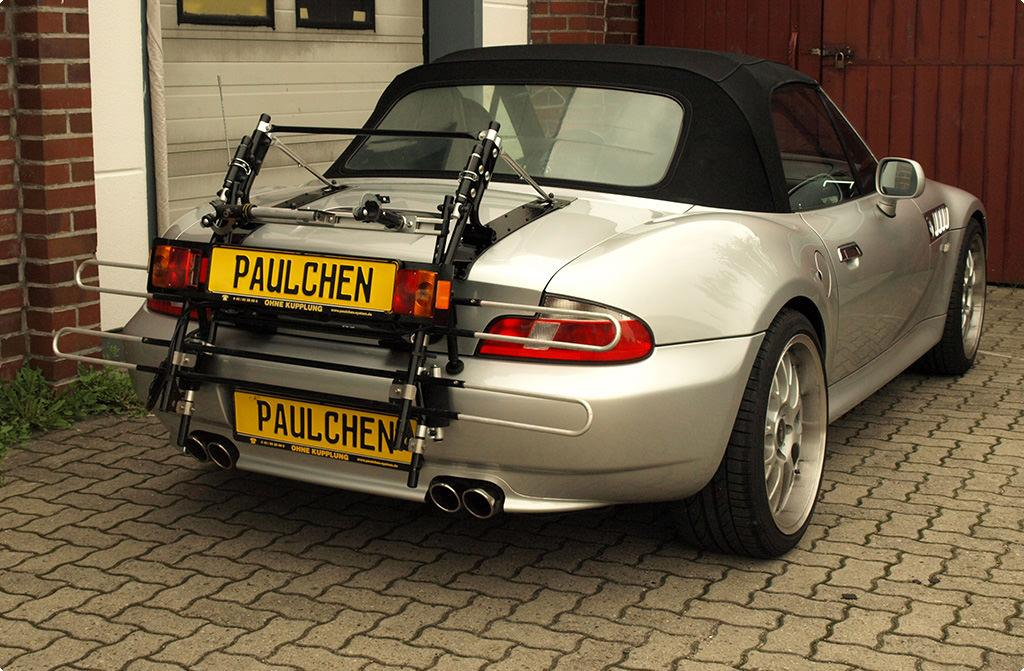 Bicycle Carrier For Bmw Z3 Cabrio E36 Paulchen
