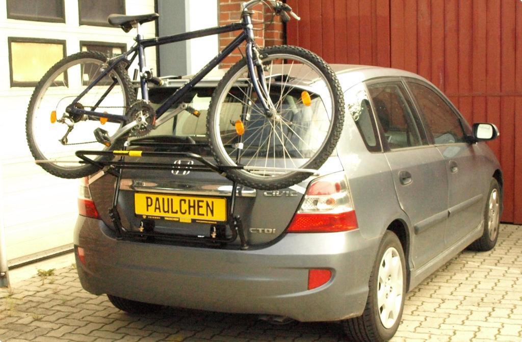 bicycle carrier for honda civic vii