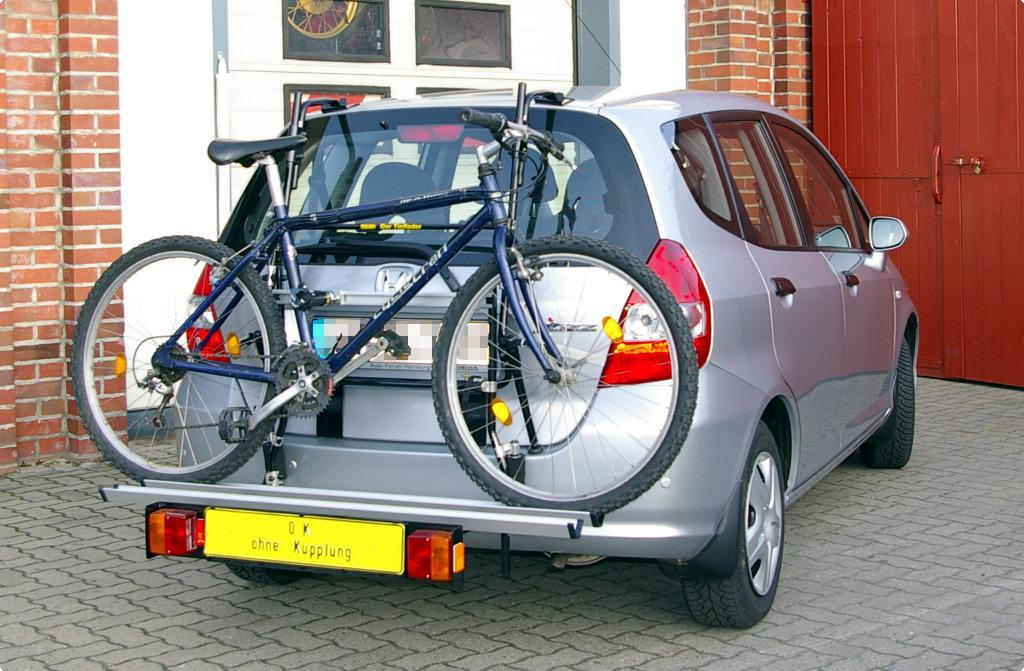 Bicycle Carrier For Honda Jazz Ii Gd Paulchen