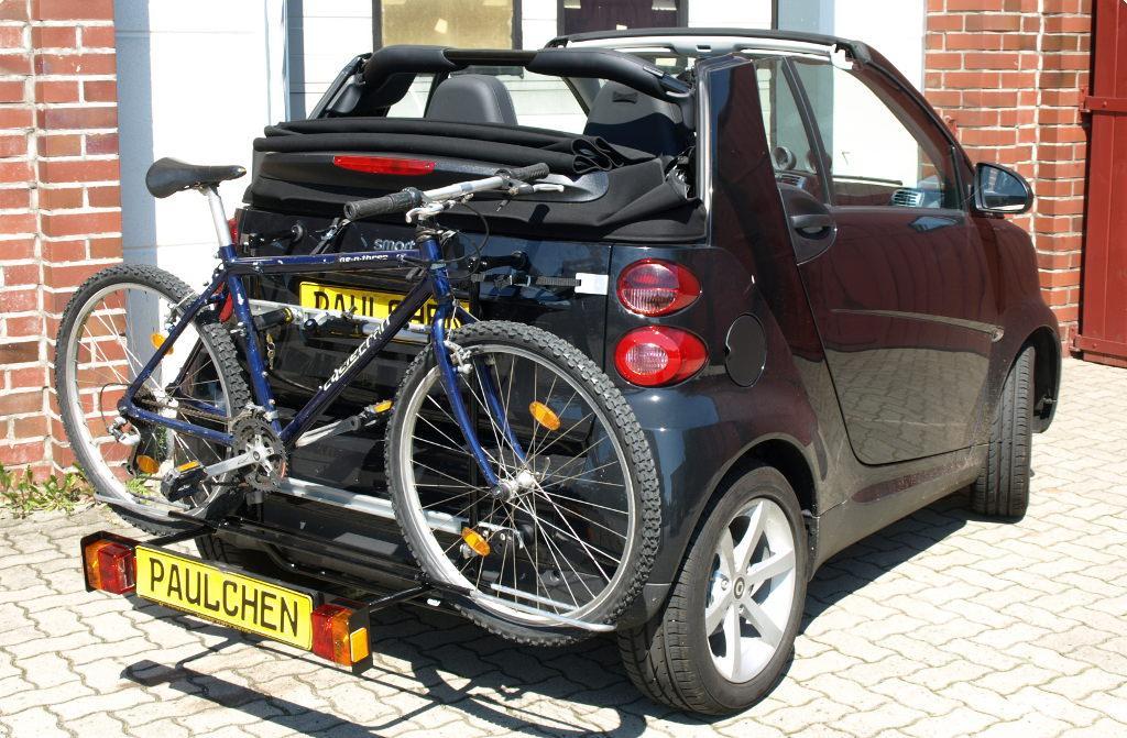 smart smart fortwo cabrio fahrradtr ger am heck. Black Bedroom Furniture Sets. Home Design Ideas