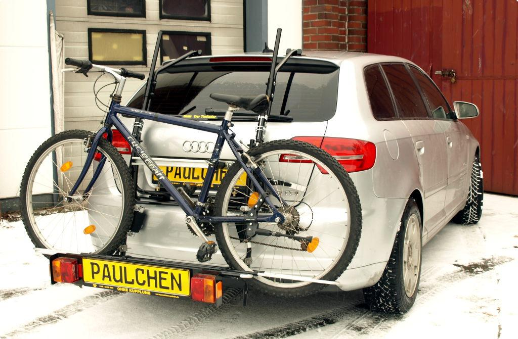 bicycle carrier for audi a3 sportback s line 8pa. Black Bedroom Furniture Sets. Home Design Ideas