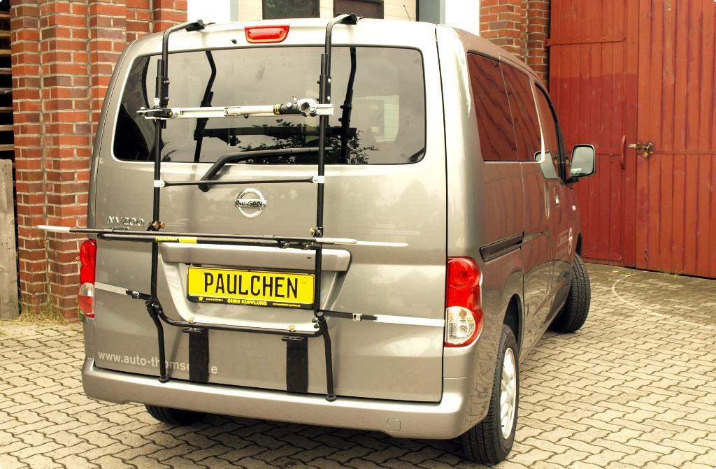 fahrradtr ger f r nissan nv200 evalia paulchen. Black Bedroom Furniture Sets. Home Design Ideas