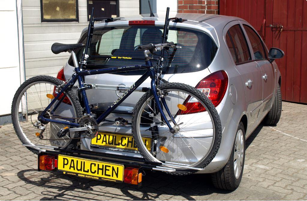 Opel Corsa D Bike Rack Paulchen Hecktr 228 Ger System