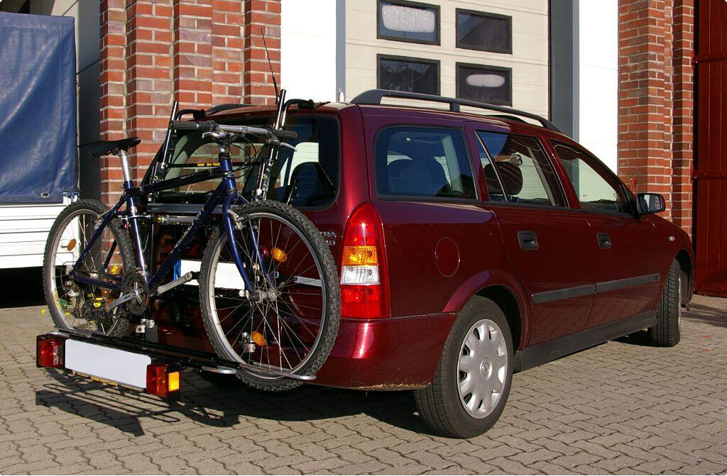 Opel Astra G Caravan Bike Rack Paulchen Hecktrager System Fahrradtrager