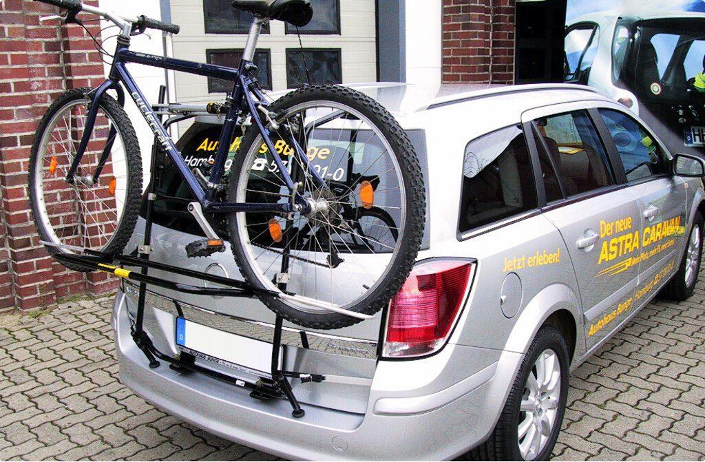 opel astra h caravan fahrradtr ger am heck. Black Bedroom Furniture Sets. Home Design Ideas