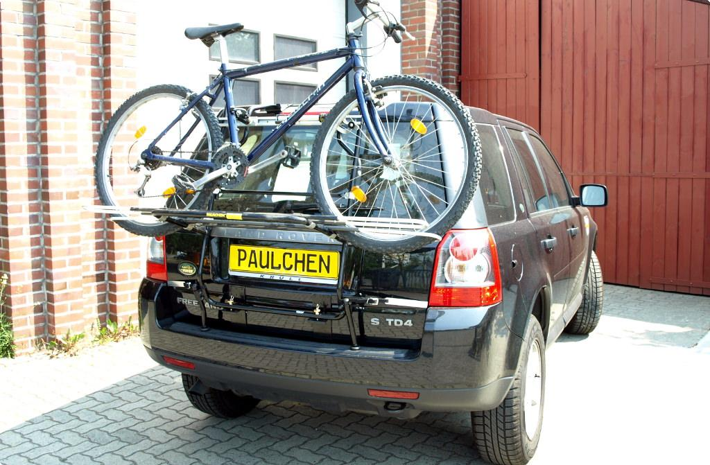 Bicycle Carrier For Landrover Rover Freelander Ii Fa