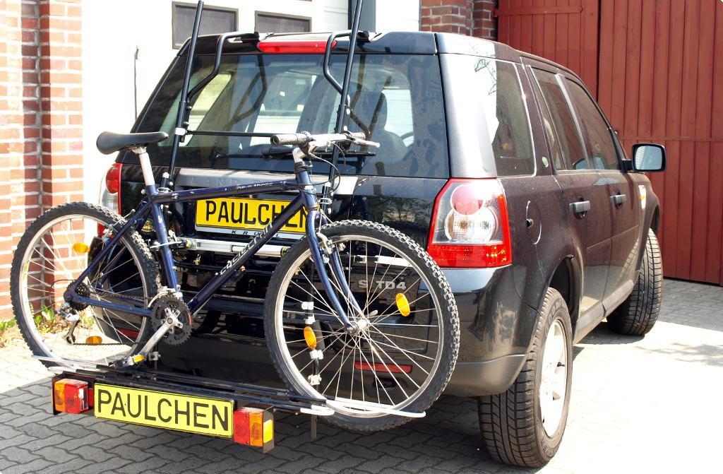 bicycle carrier for landrover rover freelander ii fa paulchen hecktr ger system. Black Bedroom Furniture Sets. Home Design Ideas